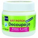 ART POTCH Decoupage Kleber & Lack seidenmatt 150ml