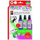 Fashion-Spray Textilsprühfarbe Set TROPICAL ISLAND