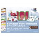 Fotokarton-Bastelblock Winter Wonderland 16 Blatt