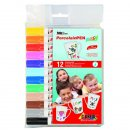 Porzellan Stift Easy 12er-Set für Kinder