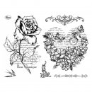 Stempel Blumenherz & Rose Viva Decor