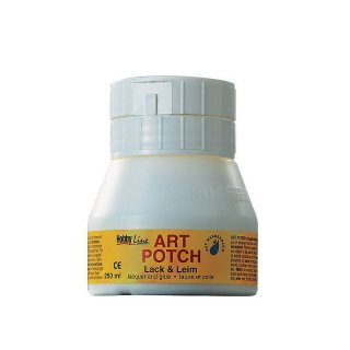 Serviettenkleber matt 250 ml ART POTCH Lack & Leim