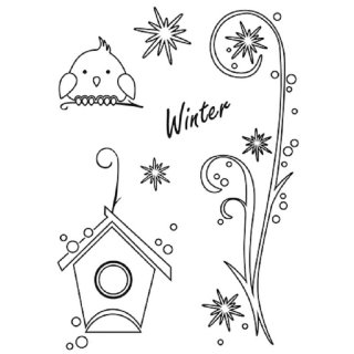 Clear Stamps Winter, A7, 6 - teilig