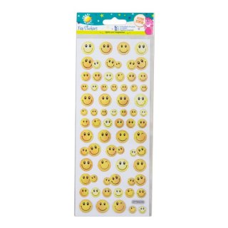 Fun Sticker Smiley - Gesichter