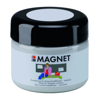 Magnetfarbe grau 225 ml