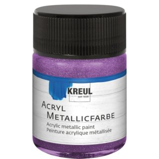 Acryl-Farbe Metallic 50ml 81 - Metallic Flieder