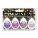Memento Dew Drops Set - Juicy Purples (4 Stempelkissen)