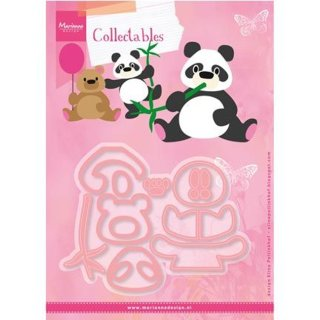 Stanzschablone Elines Panda & Bear Collectables