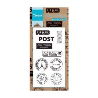 Clear Stamp Post Set / Postage Set