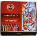 Koh-I-Noor Polycolor 24er Pack Metalletui