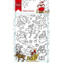 Clear Stamp Hettys Santa Clauses - Weihnachtsmann