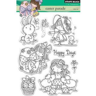 Clear Stamp Easter parade - Ostern