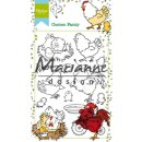 "Stempel ""Hetty's chicken family"" Marianne Design"