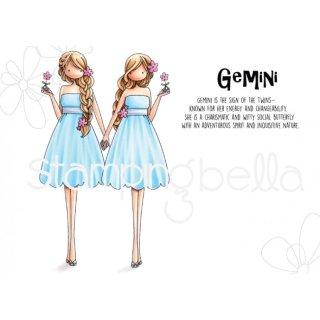 Stempel Uptown Zodiac Girl Gemini Sternzeichen Zwillinge