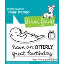 "Stempel ""Year Five"" Lawn Fawn"