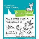 "Stempel ""Winter Unicorn"" Lawn Fawn"