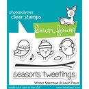 "Stempel ""Winter Sparrows"" Lawn Fawn"