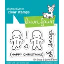 "Stempel ""Oh Snap"" Lawn Fawn - Lebkuchenmännchen"