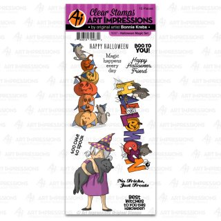 "Stempel ""Halloween Magic Set"" Art Impressions"
