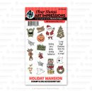 "Stempel ""Holiday Mansion Accessory Set"" Art Impressions"