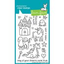 Stempel Critters Ever After Lawn Fawn