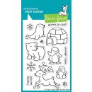 Stempel Critters In the Snow Lawn Fawn
