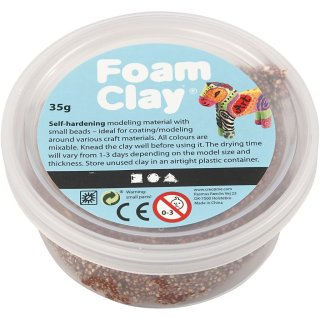 Foam Clay®, Braun, 35g
