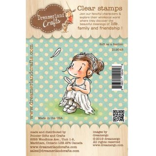 Stempel Soft As A Feather Dreamerland