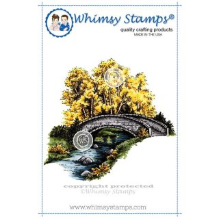 Stempel Bridge Over Water Whimsy Stamps