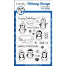 Stempel Penguins Winter Adventure Whimsy Stamps