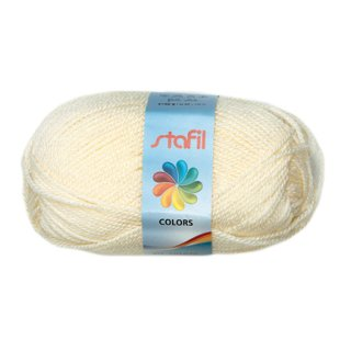 Wolle Acryl 50g - creme