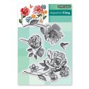 Stempel Flower Pageant Cling Stamp