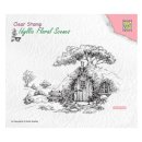Stempel Scene with old house Nellies Choice