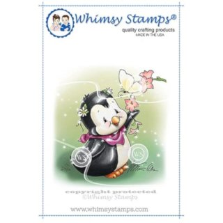Stempel Penguin and Butterfly Whimsy Stamps