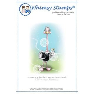 Stempel Stretchy Ostrich Whimsy Stamps