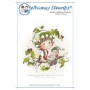 Stempel Oak Tree Boy Whimsy Stamps