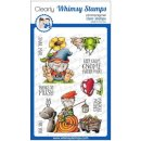 Stempel Gnome Matter What Whimsy Stamps