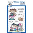 Stempel Goth Doll Girl Whimsy Stamps