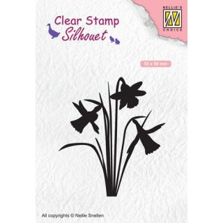 Stempel Silhouette - Narzisse Nellies Choice