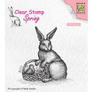 Stempel Hase mit Korb Nellies Choice