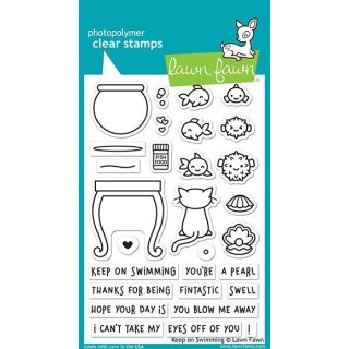 Stempel Keep on Swimming Lawn Fawn