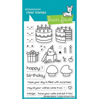 Stempel Birthday Before n Afters Lawn Fawn