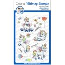 Stempel Unicorn Wishes Whimsy Stamps