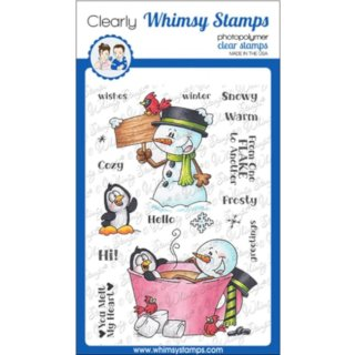 Stempel Frosty Wishes Whimsy Stamps